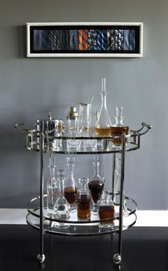 Design + Obsessed: {Currently Coveting: Bar Carts}