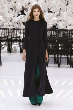 Siluetas Dior abrigos sobretodo