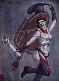 Vampire The Masquerade Malkavian by Sia-chan