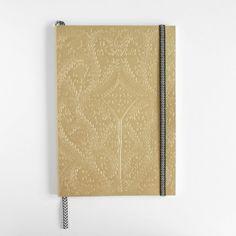 Paseo embossed notebook in gold by Christian Lacroix Papier