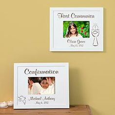Communion, Confirmation and Baptism Frames