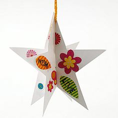 Hanging Stars  - just leave plain for the entryway j