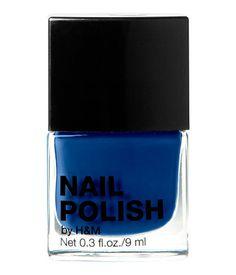 SOMETHING BLUE // H&M nail polish