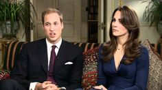Prince William and Kate Middleton - Full engagement announcement interview. Too cute
