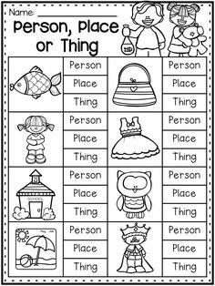 nouns and verbs worksheets grammar worksheet packet  nouns adjectives and verbs worksheets