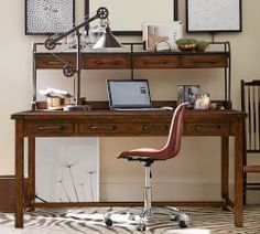 Home Office Furniture Wood U0026 Home Office Collections | Pottery Barn