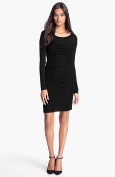 Diane von Furstenberg 'Lerosa' Ruched Body-Con Dress available at #Nordstrom