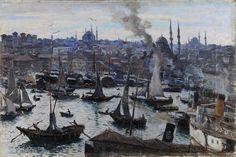 Φλωρά Καραβία Θάλεια (1871 - 1960) Κωνσταντινούπολη, π. 1905 Λάδι σε μουσαμά, 44 x 65 εκ. Κληροδότημα Αντωνίου Μπενάκη αρ. έργου: Π.1862