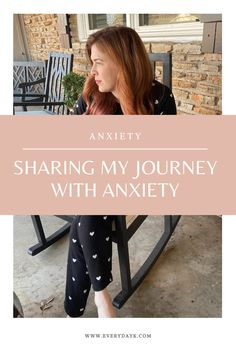 On Everyday K sharing my story with anxiety and how I figured out I have it. #everydayK #anxiety