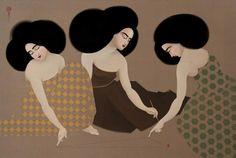 from Empty Kingdom dot com Traditional Paintings, Contemporary Paintings, Art Du Monde, Bagdad, Iranian Art, Turkish Art, Feminist Art, Music Film, Sculpture