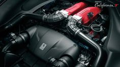Ferrari California T - The engine