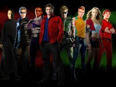 Smallville Justice League: Martian Manhunter (John Jones or J'onn J'onzz), Black Canary (Dinah Lance), Cyborg (Victor Stone), Superman (Clark Kent), Green Arrow (Oliver Queen), Aquaman (Arthur Curry), Supergirl (Kara Kent), The Flash/Impulse (Bart Allen).