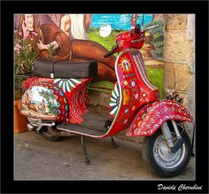 More Fun Vespa Art