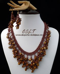Des perles des bijoux :: Coraling technique