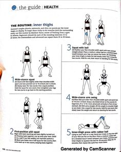 REAL SIMPLE: JUNE 2010 -- Routine: Inner Thighs