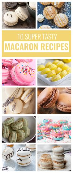 French macarons have made a huge increase in popularity lately. I'm not particularly mad about it since they are super tasty and delicious. Desserts To Make, Köstliche Desserts, Delicious Desserts, Dessert Recipes, Plated Desserts, French Macarons Recipe, French Macaroons, Macarons Easy, Baking Recipes