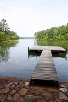 Beautiful view from the dock on the lake Repurposed History Home on Lake Wedowee