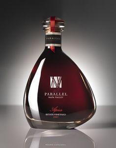 Parallel Napa Valley Wine Parallel Napa Valley Parallel Port Wine Label & Package Design Napa Valley