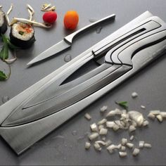 Coolest knife set ever! for-the-home http://womendres.blogspot.com