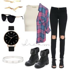 Untitled #15 by sudachikotarou on Polyvore featuring polyvore, fashion, style, Rails, Free People, Frame Denim, MARC BY MARC JACOBS, Cartier, Olivia Burton and Una-Home