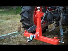 Crazy Power John Deere - New Holland - Massey Ferguson Compact Tractor Attachments, Garden Tractor Attachments, Tractor Drawbar, Ford Tractors, Small Tractors, Compact Tractors, Welding Projects, Welded Metal Projects, Welding Crafts