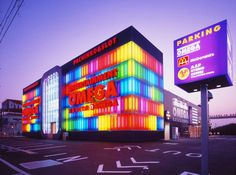 Pachinko parlour 'Entertainment Omega' in Shiga prefecture was newly constructed by Tokyo-based Tokyo Odyssey.