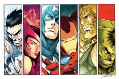 Alvin Lee AVENGERS by dcjosh.deviantart.com on @deviantART