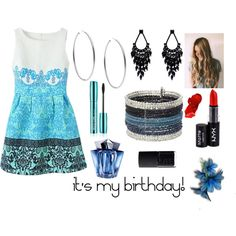 It's my 13th birthday!!!!1 by creator31 on Polyvore featuring Michael Kors, Oasis, NYX, Thierry Mugler and NARS Cosmetics