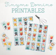 Printable Dominoes Game. Yay! ~ Tinyme