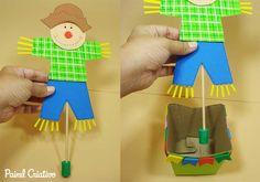 lembrancinha festa junina espantalho eva porta guloseima enfeite mesa criancas 6