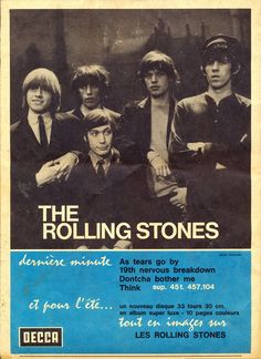 The Rolling Stones promo ad, 1965