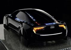 Audi shows off OLED-illuminated concept R8