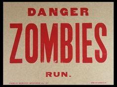 Danger Zombies Run