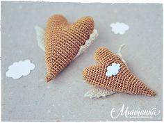"brooch ""Flying Heart"" Valentine's Day #valentine #valentin #heart #love #craft #crochet"