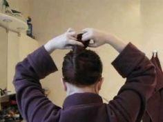 French Twist Hair Slide.