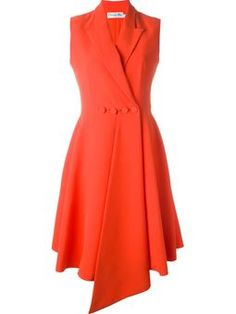 double breasted flared dress $3,207 #farfetch #fashion! #DesigerClothing