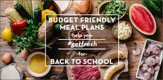 The Fresh 20 – Budget Meal Plans for Busy Families. It's a book. May check it out, not sure yet.