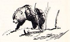 "Illustration by Zdenek Burian ""From the Depths of Prehistoric,"" 1968 Z Hlubin Praveku"