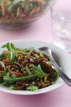 Warm Curried Lentil Salad