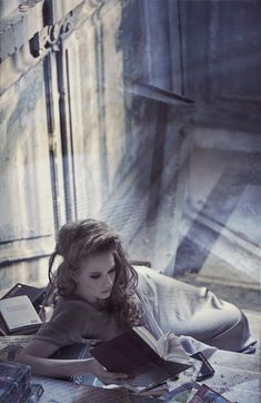 It was empty. The whole house. Empty of people finally. For as long as she wanted she could study. No one to discuss what she learned. She didn't care the slightest about that. For the first few years...... -W