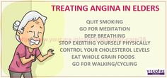 FEW LIFESTYLE CHANGES, PRECISE #DIET & #EXERCISE CAN PREVENT #ANGINA IN YOUR ELDER ONE.    http://www.youcare.in/care/find/senior-care/35     #seniorcareinchandigarh #elderlycareinchandigarh #seniorcareinpanchkula #seniorcareinmohali #caregiversforleders