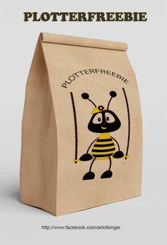 plotter file free plotter freebie plotter datei kostenlos biene bee