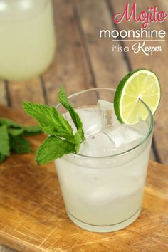This Mojito Moonshine is a kicked up version of my favorite cocktail. I love the tartness from the limes & the freshness from the mint! Get the recipe here.