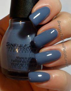 Sinful Colors - Secret Agent, little lighter in person