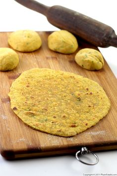 Dal Paratha Recipe (Indian Flat Bread) Recipe... I stuffed mine with the lentil mix.