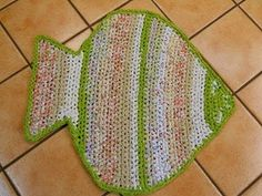 Fish and Turtle Rag Rug Preview - YouTube