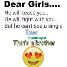 Tag-mention-share with your Brother and Sister 💙💚💛🧡💜👍 Love My Brother Quotes, Brother And Sister Relationship, Friend Love Quotes, Brother Birthday Quotes, Little Boy Quotes, Sister Quotes Funny, I Love My Brother, Your Brother, Friends In Love