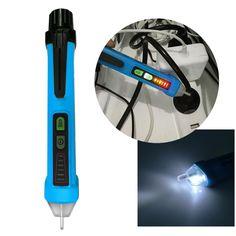 Non-contact Auto 12V-1000V Professional Pen Style AC Voltage Detector Tester Voltage Measurement Tools FULI