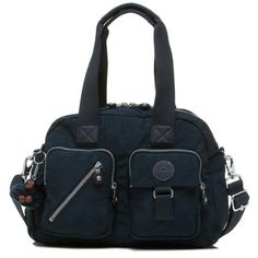 Kipling Luggage Defea Handbag with Shoulder Strap True Blue One Size * More info could be found at the image url.