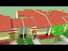 Gambar rumah tipe 30 yang dipadukan dinding belakangnya, sehingga menjadi esklusif, disain ini kami khususnya untuk perumahan yang penghuni...
